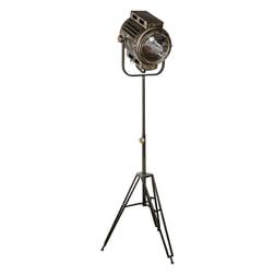 PTMD Vloerlamp 'Asher' Brass
