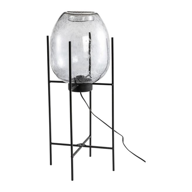 PTMD Vloerlamp 'Chett' Glas, 70cm hoog