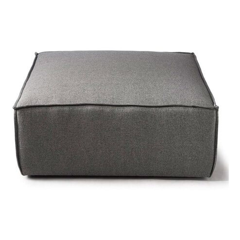 Rivièra Maison Hocker 'The Jagger', kleur Steel Grey