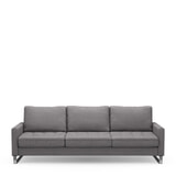 Rivièra Maison 3,5-zits Bank 'West Houston' Oxford Weave, kleur Steel Grey