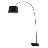 Artistiq Vloerlamp 'Kellie' 205cm hoog, kleur Zwart