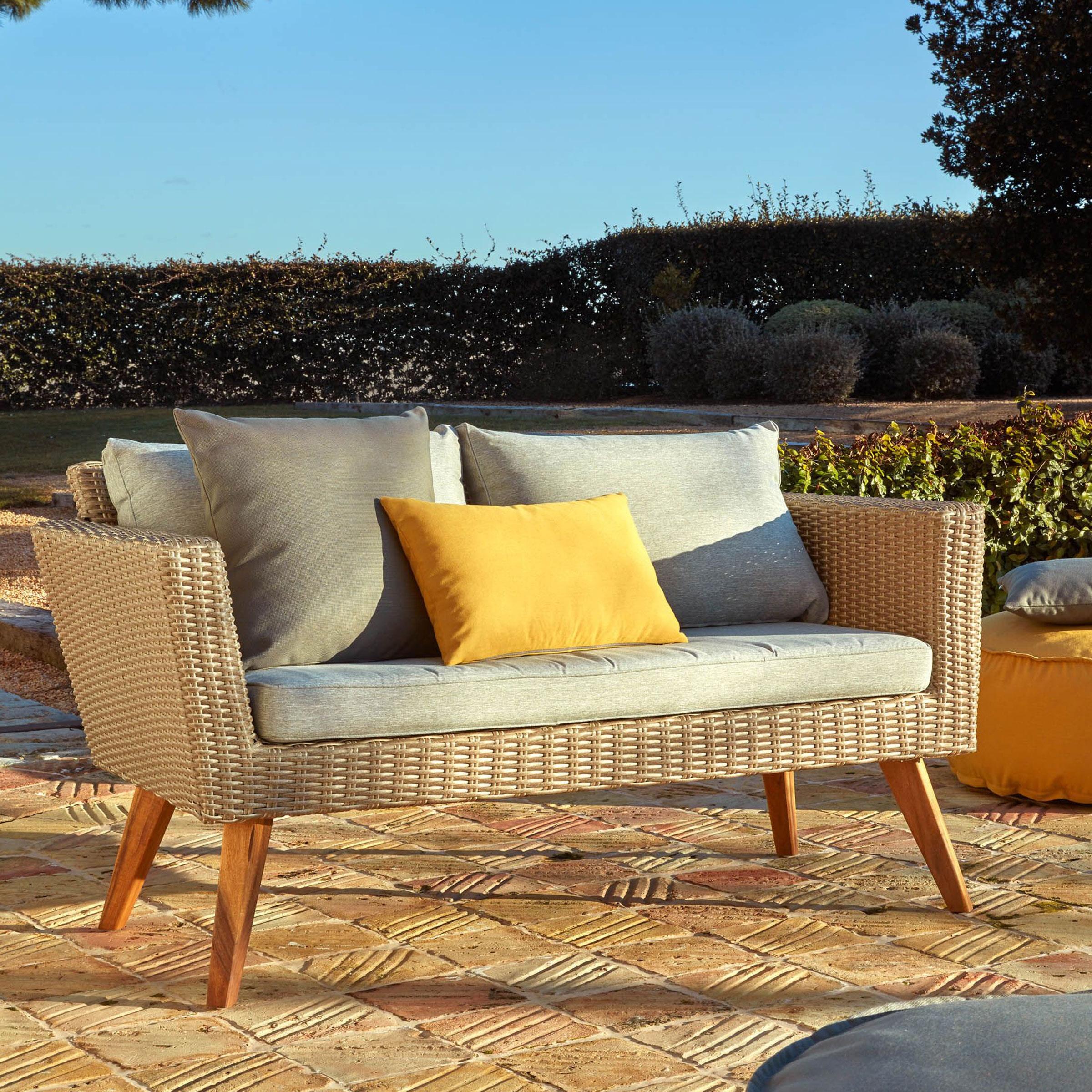 Kave Home Tuinbank 'Sumie' kleur Naturel