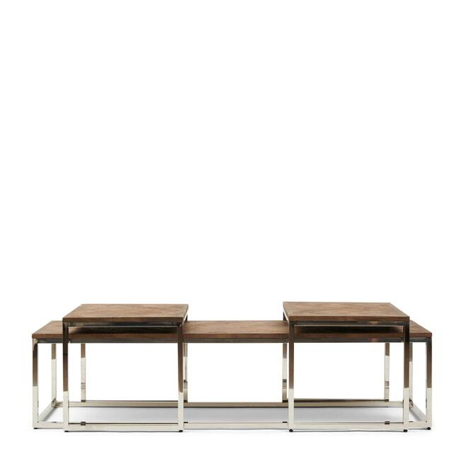 Rivièra Maison Salontafel 'Bushwick' Set van 3 stuks