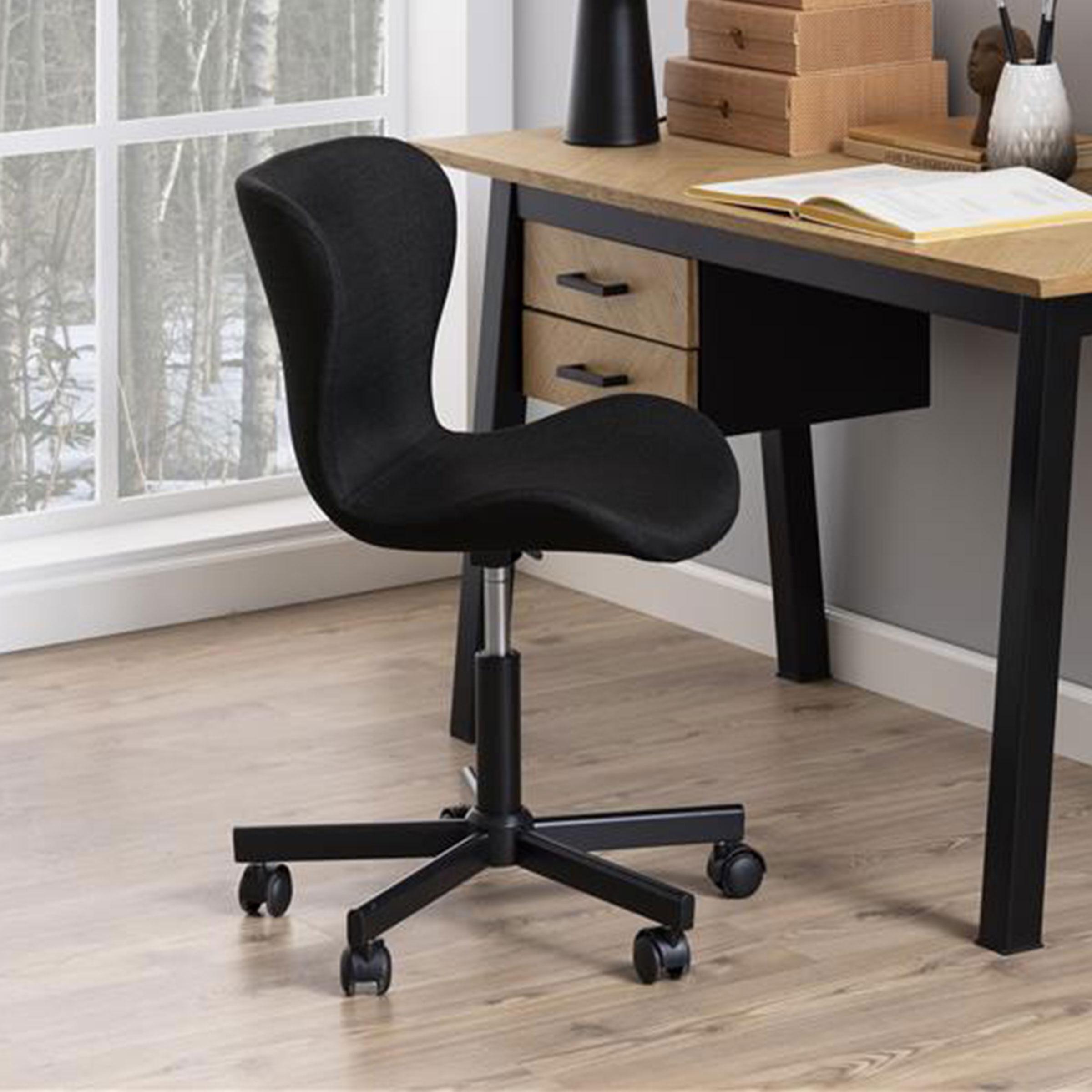 Bendt Bureaustoel 'Olle', kleur Antraciet