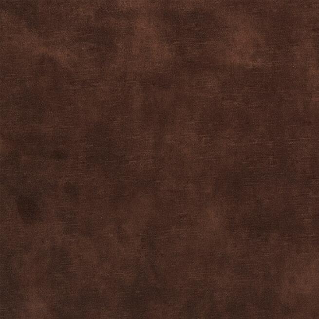 Rivièra Maison Loungebank 'West Houston' Rechts, Velvet, kleur Chocolate