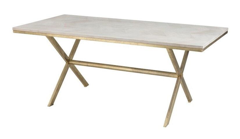 Op SlaapkamerComfort: Alles voor slapen is alles over meubelen te vinden: waaronder meubelpartner en specifiek J-Line Eettafel Elien 181 x 95cm (J-Line-Eettafel-Elien-181-x-95cm45323)