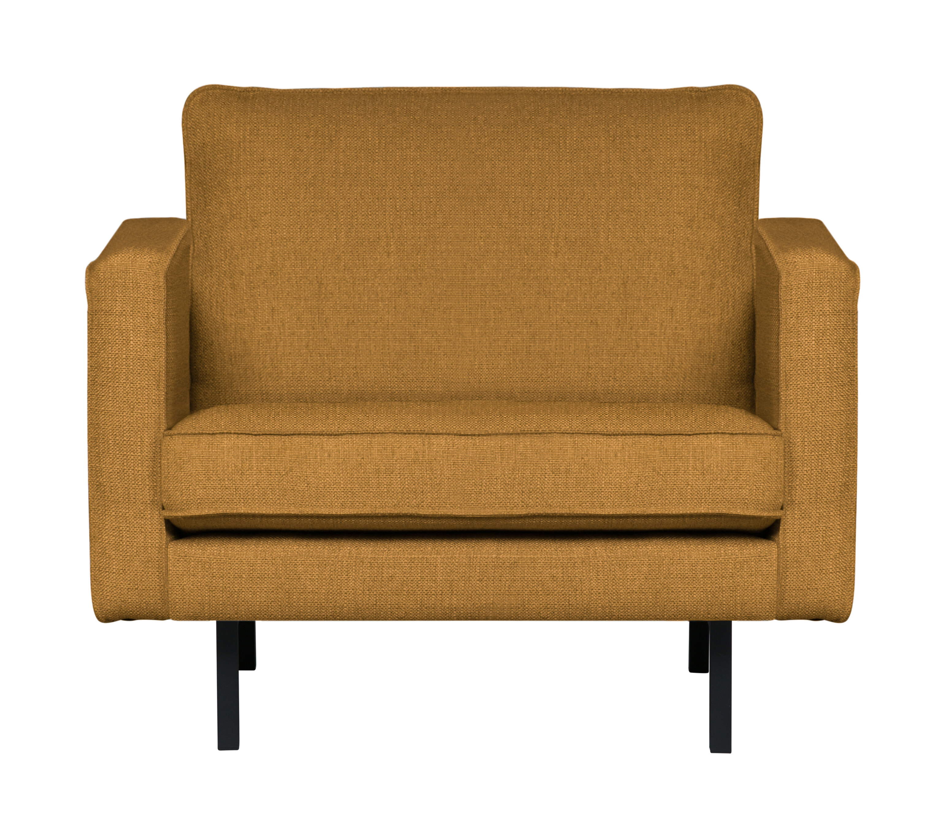 BePureHome Fauteuil 'Rodeo' Stretched, kleur Fudge
