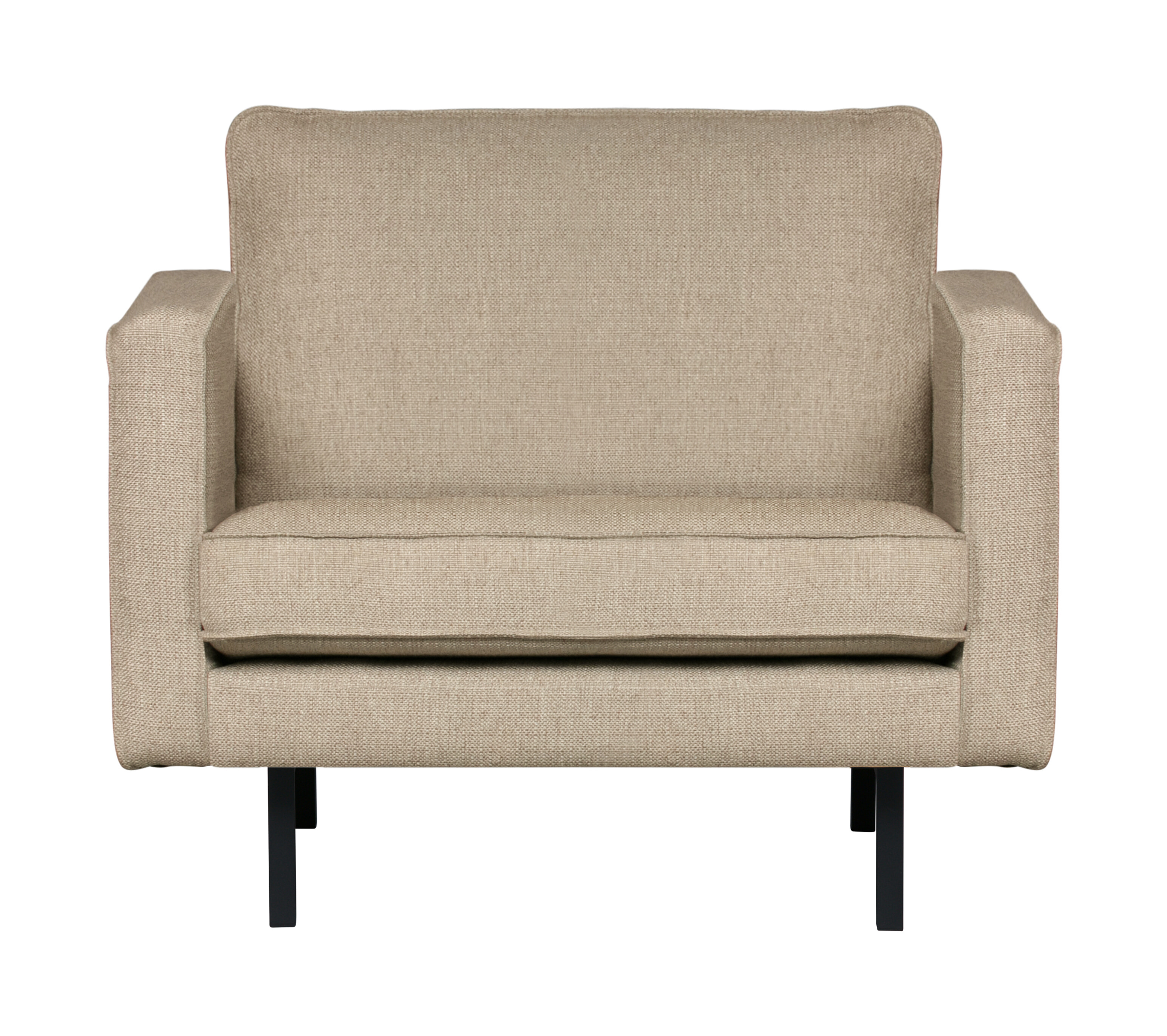 BePureHome Fauteuil 'Rodeo' Stretched, kleur Sahara