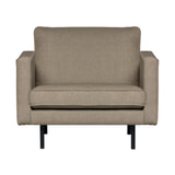 BePureHome Fauteuil 'Rodeo' Stretched, kleur Brown Melange