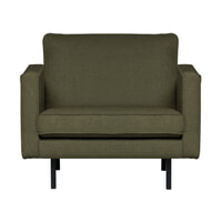 BePureHome Fauteuil 'Rodeo' Stretched, kleur Tea Leave
