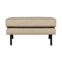 BePureHome Hocker 'Rodeo' Stretched, kleur Sahara