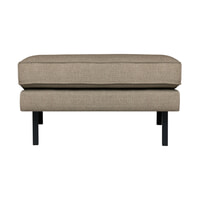 BePureHome Hocker 'Rodeo' Stretched, kleur Brown Melange