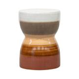 BePureHome Krukje/Bijzettafel 'Glazed', kleur Chestnut