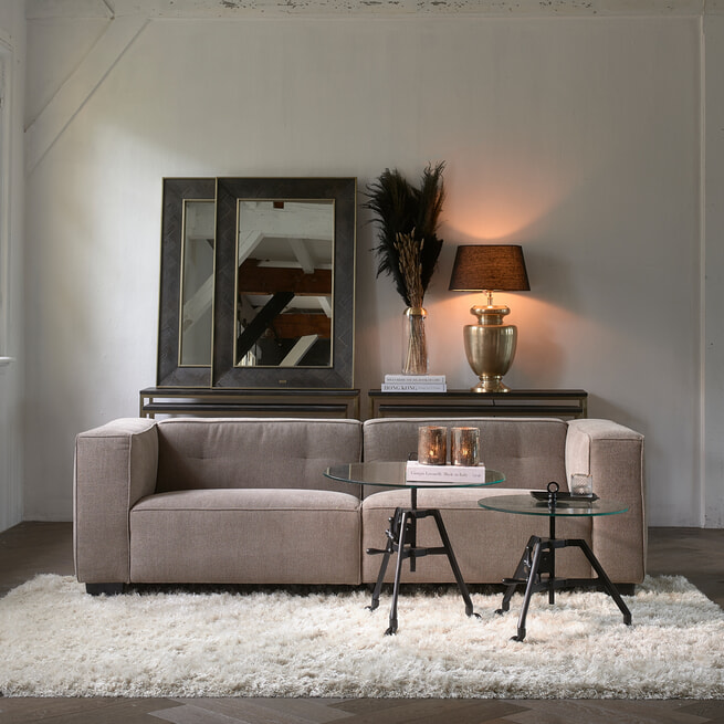 Rivièra Maison Salontafel 'Bricklane' 70cm