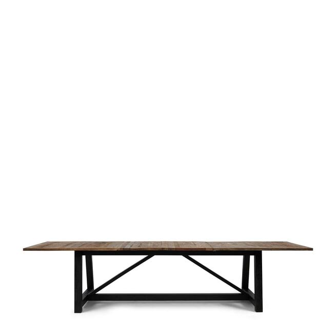 Rivièra Maison Uitschuifbare Eettafel 'Hudson' 236/286/336 x 100cm