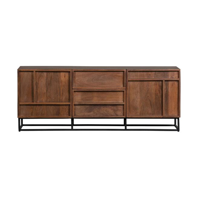 WOOOD Exclusive TV-meubel 'Forrest' Mangohout, 140cm