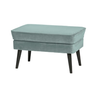 WOOOD Hocker 'Rocco' Velvet, kleur Mint