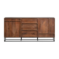 WOOOD Exclusive Dressoir 'Forrest' Mangohout, 160cm