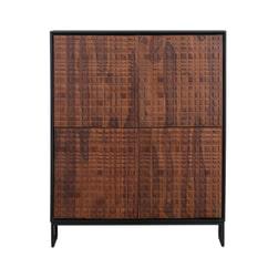BePureHome Opbergkast 'Nuts' Sheesham hout, 140 x 114cm