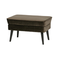WOOOD Hocker 'Rocco' Velvet, kleur Warm Groen