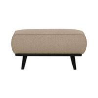 BePureHome Hocker 'Statement' Bouclé, kleur Beige