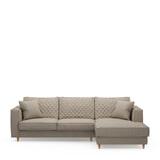 Rivièra Maison Loungebank 'Kendall' Rechts, Oxford Weave, kleur Anvers Flax