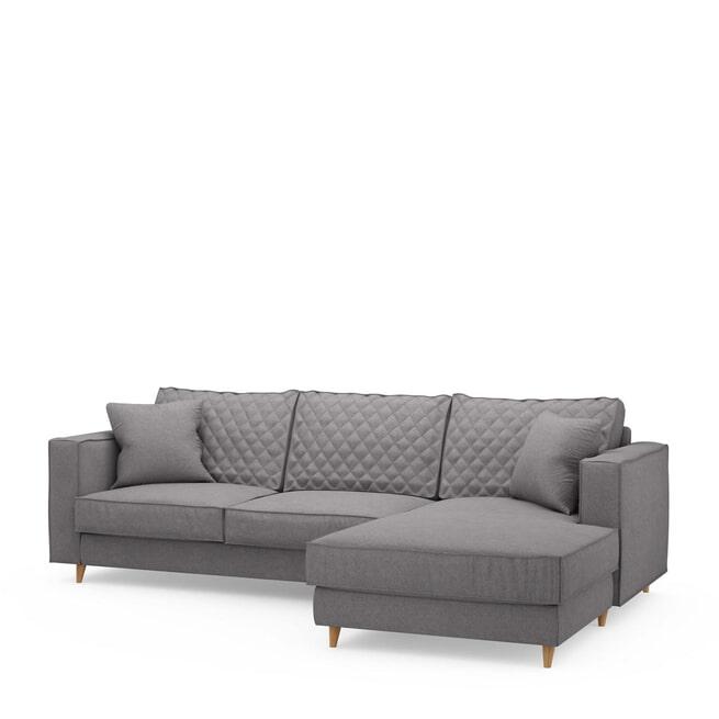 Rivièra Maison Loungebank 'Kendall' Oxford Weave, Rechts