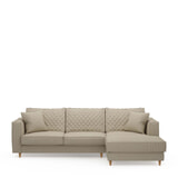 Rivièra Maison Loungebank 'Kendall' Rechts, Oxford Weave, kleur Flanders Flax