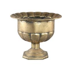 PTMD Pot 'Benja' Goudkleurig Metaal, 46,5cm x 55cm