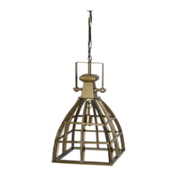 PTMD Hanglamp 'Rowdy', Metaal, 64 x 35 cm, kleur Goud