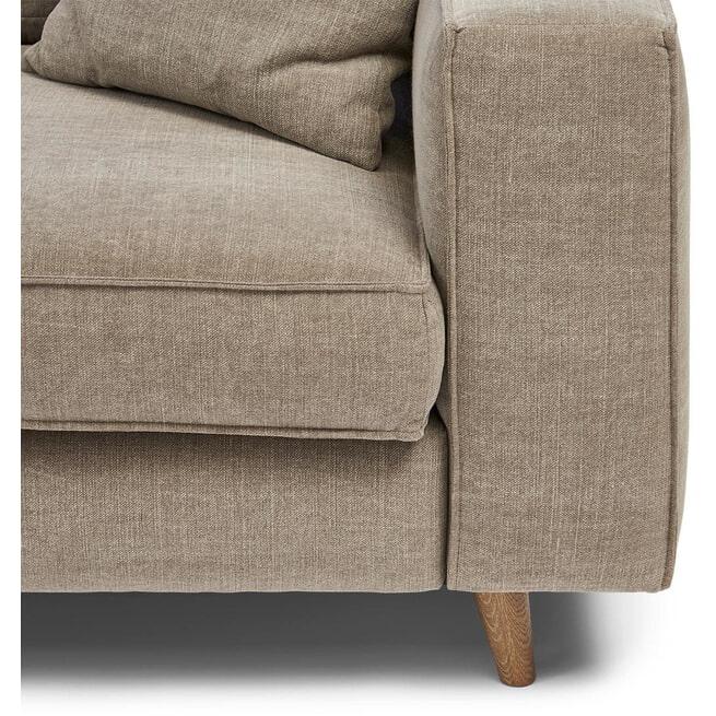 Rivièra Maison Loungebank 'Kendall' kleur stone