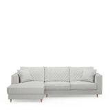 Rivièra Maison Loungebank 'Kendall' Links, Cotton, kleur Ash Grey