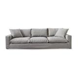 Rivièra Maison Bank 'Residenza' XL Oxford Weave, kleur Steel Grey