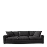 Rivièra Maison Bank 'Residenza' XL, Oxford Weave, kleur Basic Black