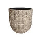 PTMD Pot 'Jitta', Keramiek, 60 x 60cm, kleur Naturel