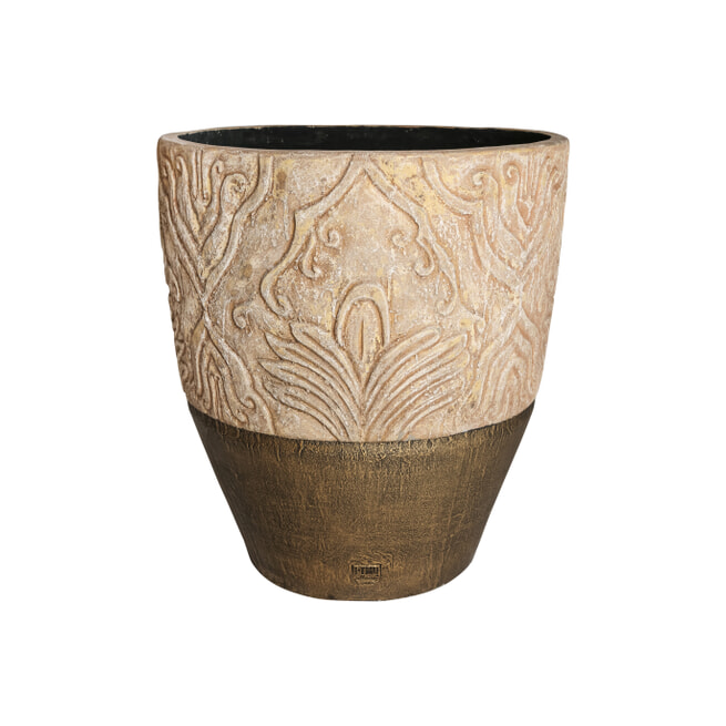 PTMD Pot 'Mita', Keramiek, 69 x 62cm, kleur Zand