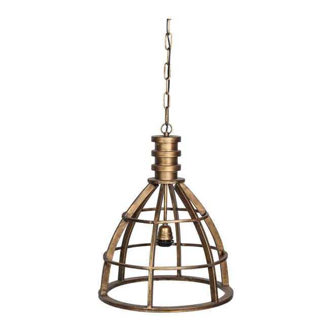PTMD Hanglamp 'Denver', Metaal, 52 x 40cm, kleur Goud