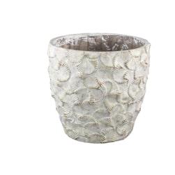 PTMD Pot 'Armin', Cement, 40cm, kleur Groen