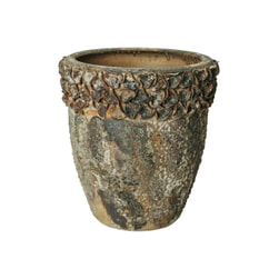 PTMD Pot 'Cay', Keramiek, 50cm, kleur Groen