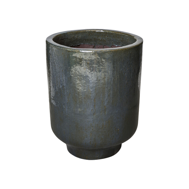 PTMD Pot 'Jesse, Keramiek, 40 x 33cm, Donker Grijs