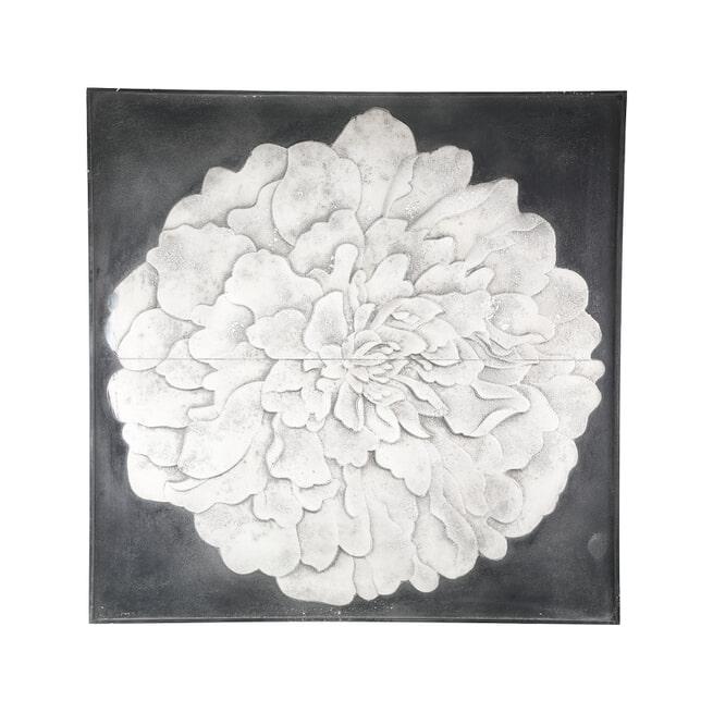 PTMD Wandpaneel 'Lorenz', Hout, 121.5cm, kleur Wit