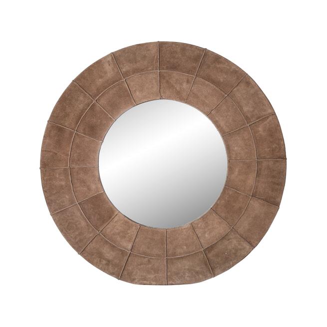 PTMD Spiegel 'Brenn', Leer, 45 x 20 x 60cm, kleur Bruin