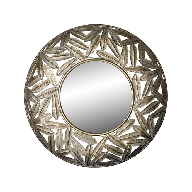 PTMD Spiegel 'Catlyn', Metaal, 80.5 x 6.5cm, kleur Goud