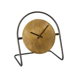 PTMD Klok 'Lennox', Metaal, 35.5 x 24 x 31cm, kleur Goud