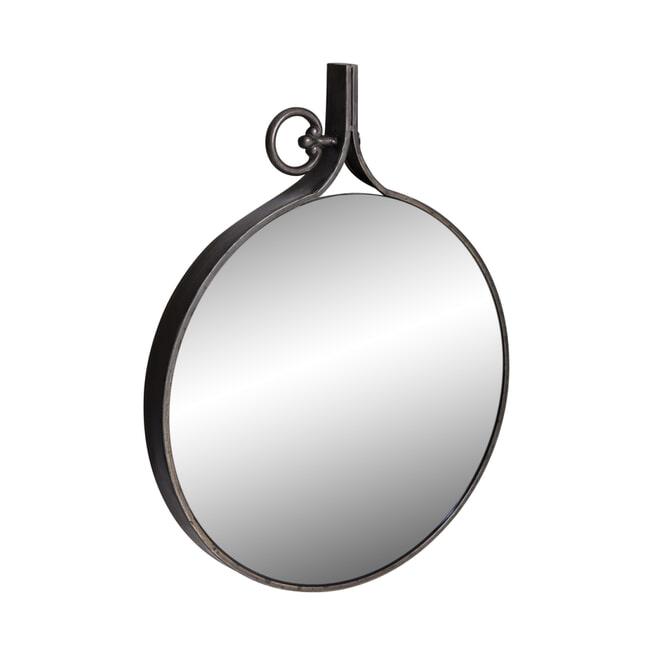 PTMD Spiegel 'Eveline', 45 x 34cm, kleur Zwart