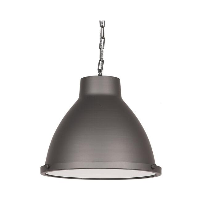 LABEL51 Hanglamp 'Industry', Metaal, kleur Grijs