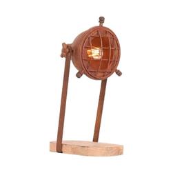 LABEL51 Tafellamp 'Grid', Metaal, kleur Roest