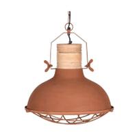 LABEL51 Hanglamp 'Grid', Metaal, kleur Koper