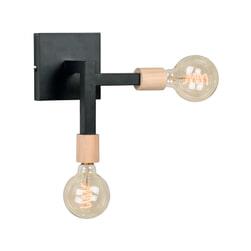 LABEL51 Wandlamp 'Loco', Metaal, kleur Zwart
