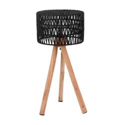 LABEL51 Tafellamp 'Stripe', kleur Zwart